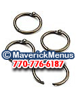 Metal Table Tent Rings