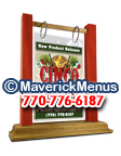 Cinco De Mayo Wooden Table Tents - GOLDENOAK-TOMATO