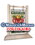 Cinco De Mayo Wooden Table Tents - ANTIQUE-WHITE